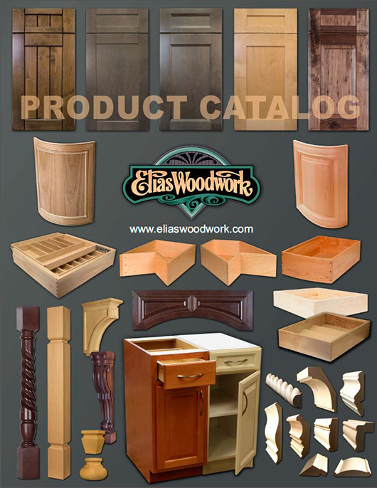 Elias Woodwork Product Catalog Cover 2017