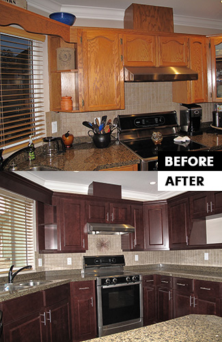 Refacing Before & After 1