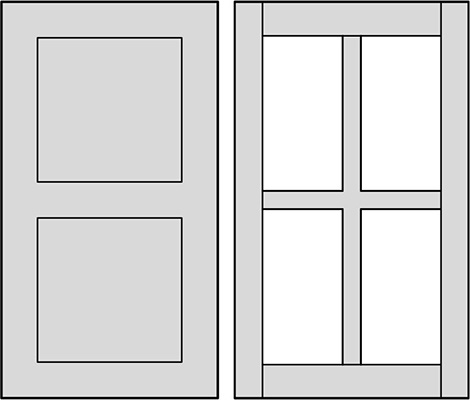 RTF & HDF Panel & Frame Options