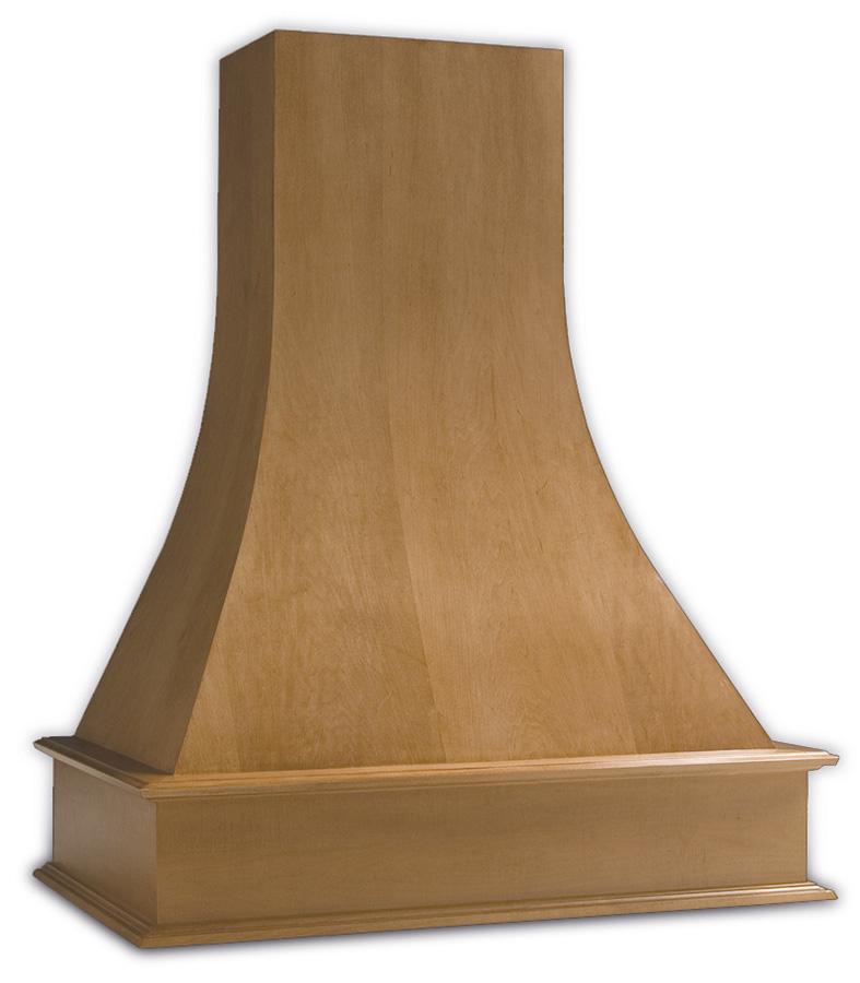Artisan Range Hood - Maple-Clear