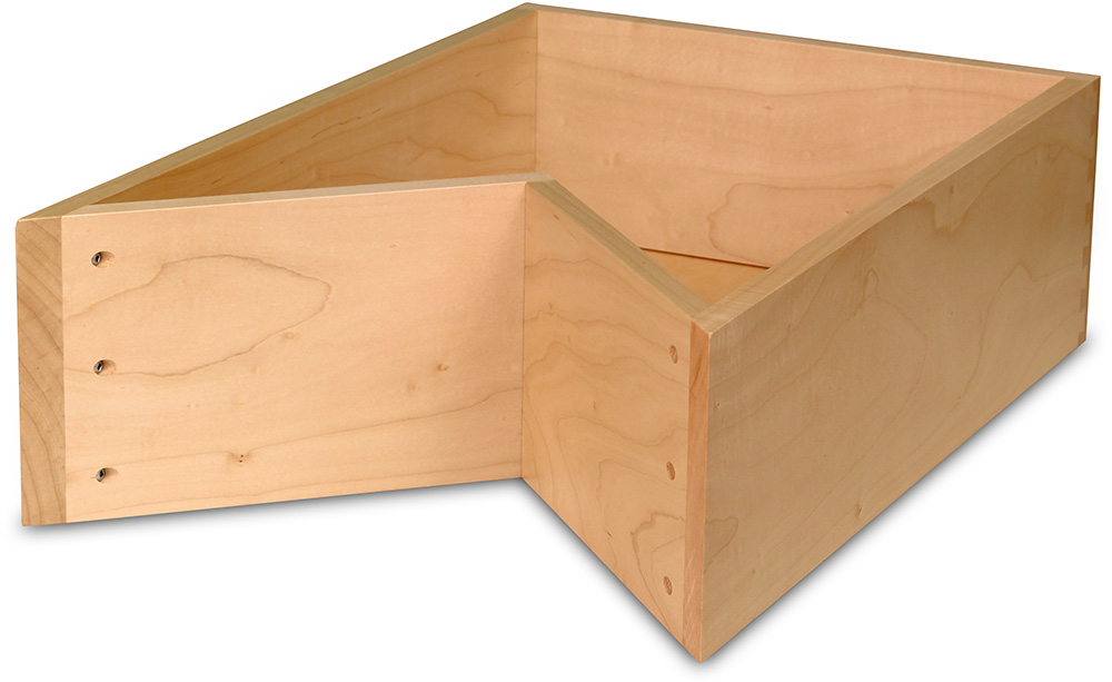 Drawer Box-D123-Select Maple