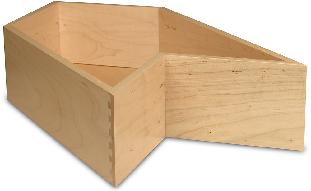 Drawer Box-D125-Select Maple