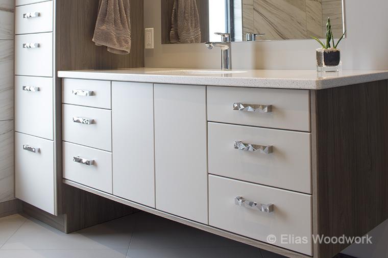 1 Bathroom Vanity & Tall Cabinet A