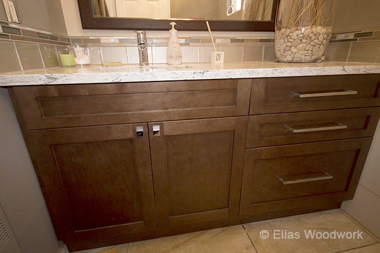 Awesome Stained Bathroom Vanity Interior Design Ideas Apansoteloinfo