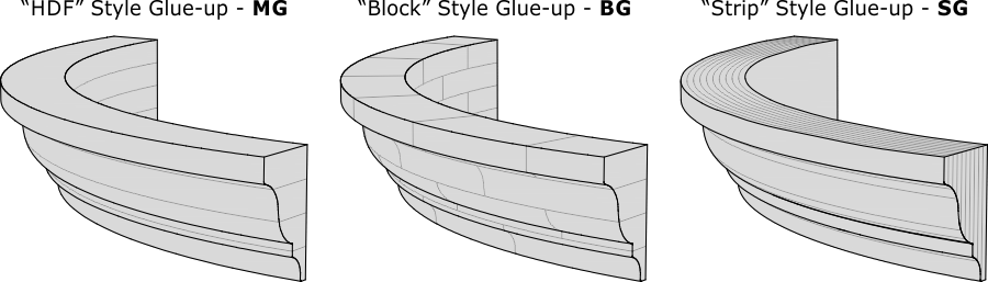 Curved Product - Glue-up Methods