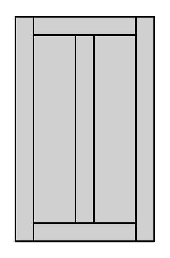 Tenon Door Shape - E500 2V
