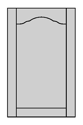 Tenon Door Shape - E600W
