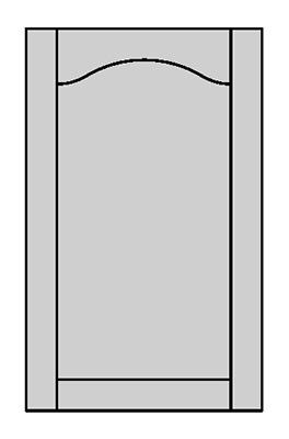 Tenon Door Shape - E600Y