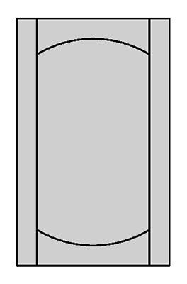 Tenon Door Shape - E800X