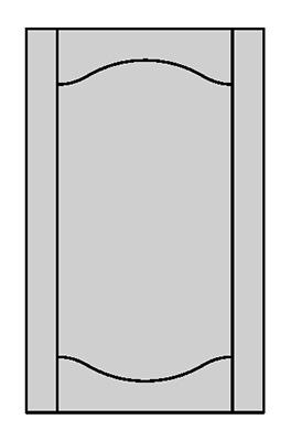 Tenon Door Shape - E800Y