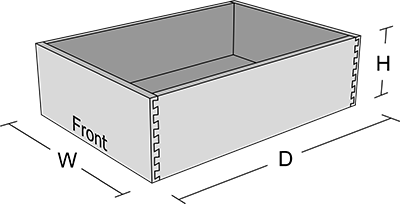 dovetail, drawer, box
